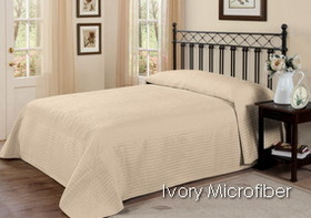 French Tile Ivory Microfiber