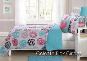 Laura Hart Kids Colette Pink Circles