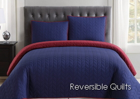 Truly Soft Everyday Reversible Quilt Set