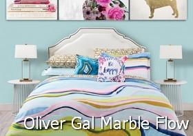 Oliver Gal Marble Flow