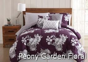 Peony Garden Floral Comforter Sets