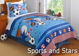 Sports and Stars Comforter Sets