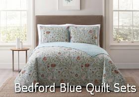 Style 212 Bedford Blue Quilt Sets