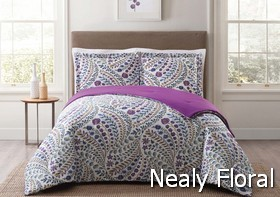 Style 212 Nealy Floral Comforter Sets