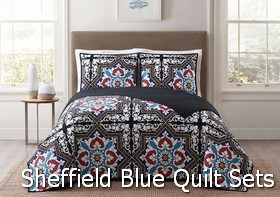 Style 212 Sheffield Blue Quilt Sets