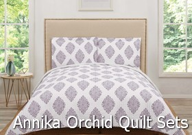 Truly Soft Annika Orchid Quilt Sets