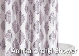 Truly Soft Annika Orchid Shower Curtain