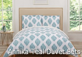 Truly Soft Annika Teal Duvet Sets
