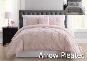 Arrow Pleated Bed in a Bag