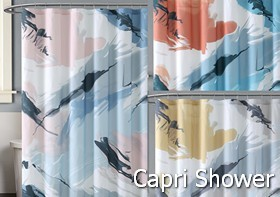 Vince Camuto Capri Shower Curtain