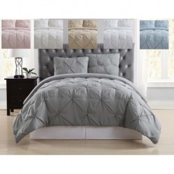 Truly Soft Pleated Duvet Set