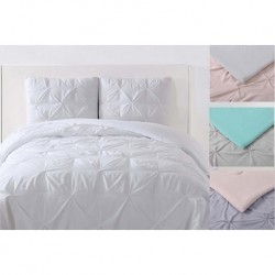 Laura Hart Kids Pleated Solid Duvet Sets