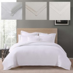 Charisma Luxe Cotton Linen Duvet Cover Set