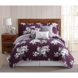 Peony Garden Floral Quilt Sets