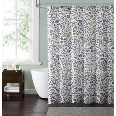 Style 212 Nealy Floral Shower Curtain