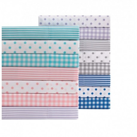 Truly Soft Everyday Gingham Sheet Set