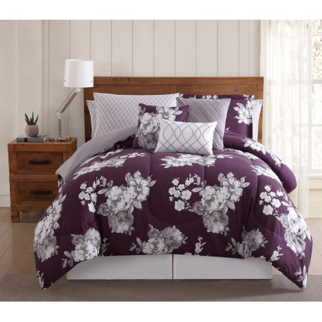 Peony Garden Floral Comforter Sets